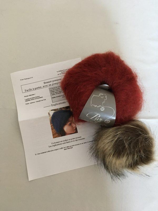 kit bonnet mohair