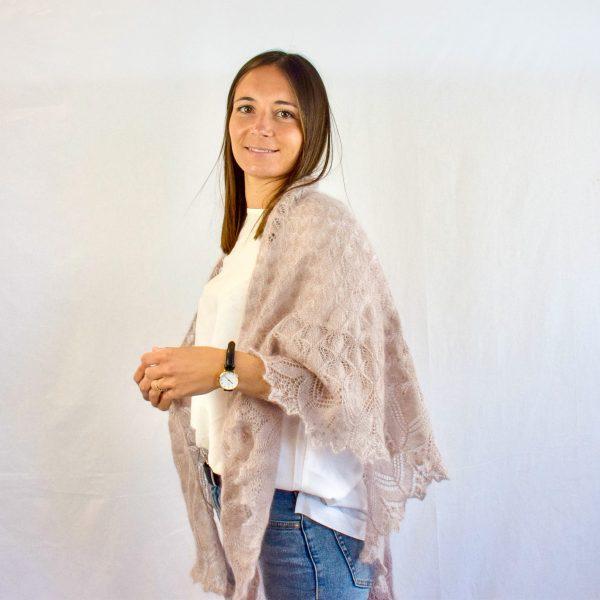 Kit tricot châle