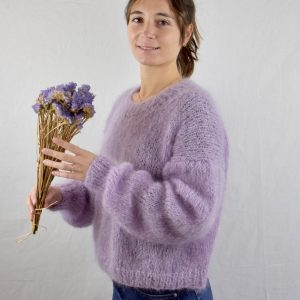 pull caresse 100% mohair