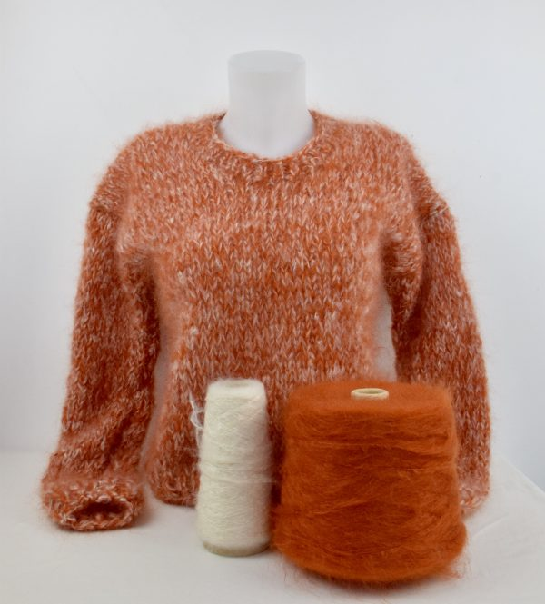 Pull Chiné 100% Mohair