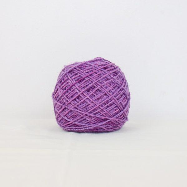 Fil Mohair et mérinos violet