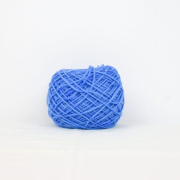 Fil mohair et mérinos Bleu